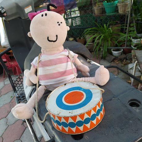 Игрушка барабан, жестянка