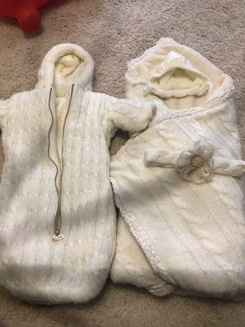 Конверт на виписку зима осінь одеяло костюмчик Mag baby