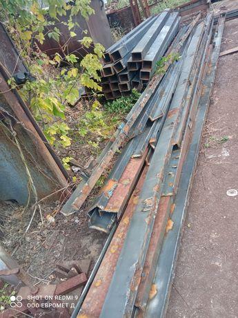 швеллер 16,14 бу отличном состояние длина от 4,3-8м на складе в Днепре