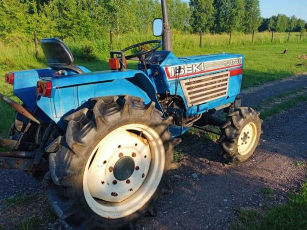 Iseki  TU 1701 traktor traktorek plus glebogryzarka