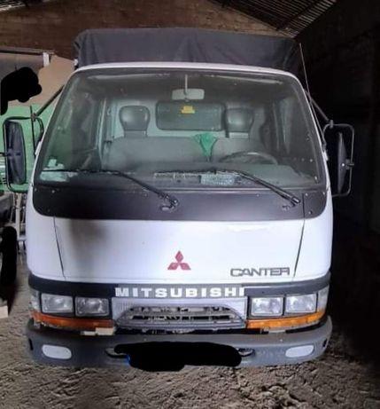 Mitsubishi Canter animais