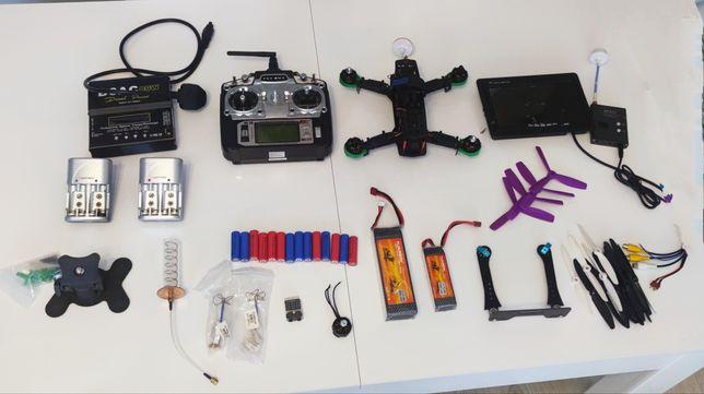 Dron racer wyścigowy zestaw z kamerą FPV