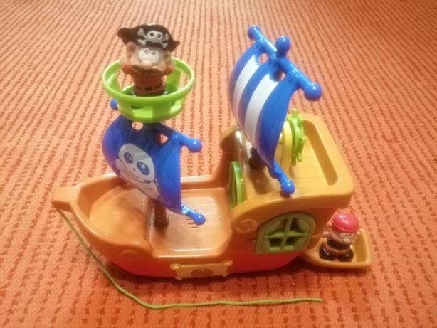 Barco musical de piratas