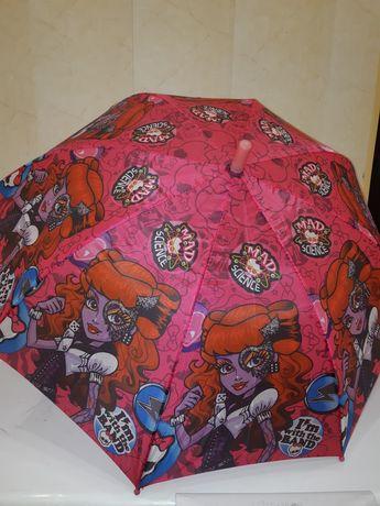 Продам стильный детский зонтик трость-автомат.