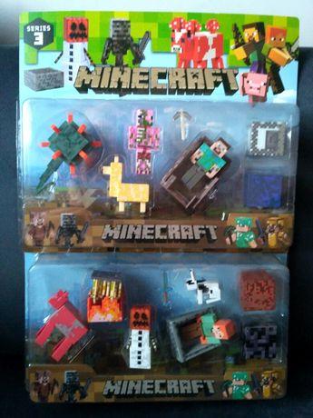 Minecraft figurki i akcesoria zestawy- Nowość!!