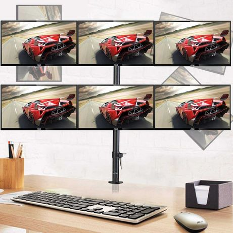 Suporte 3/6 Monitores Stand LCD LED