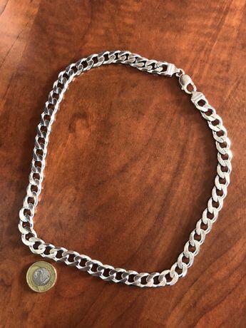 Łańcuch srebrny próba 925