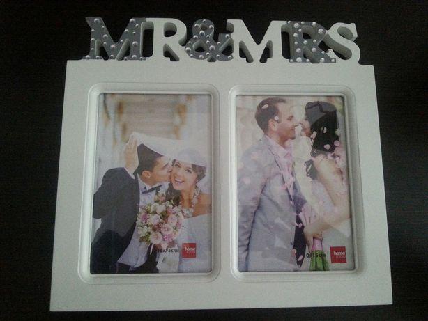 Ramka na zdjęcia Mr&Mrs
