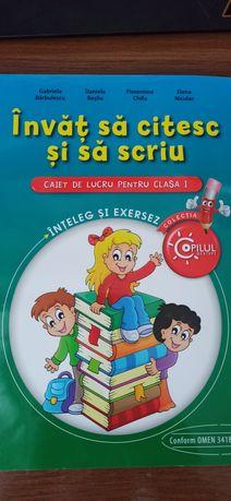 Тетрадь Învăț să citesc și să scriu. Romania