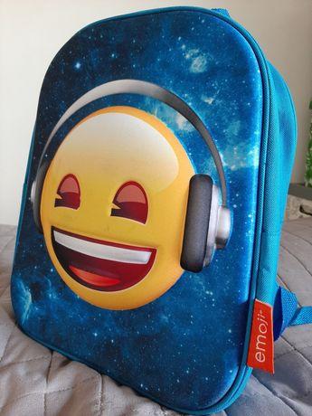 Plecak dziecięcy emoji emotki plecak podróżny szkolny