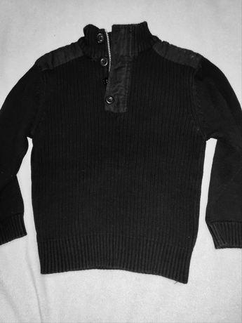 Sweter czarny 6/7   122