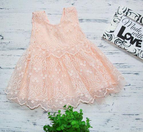 Платье для маленькой принцессы на крестины , фотосессию