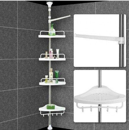 Угловая полка для ванной комнаты ADS-188
