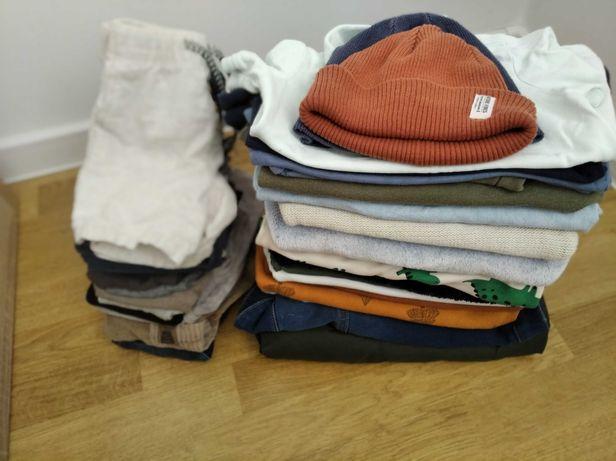 Paka ubrań 80-86