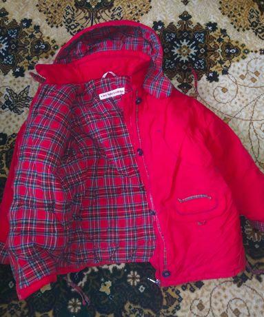 Детская зимняя куртка 500р торг