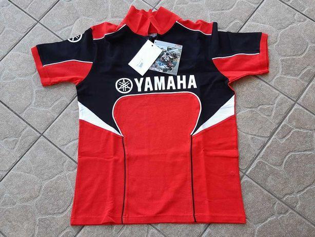 YAMAHA Racing Team RED Koszulka Polo M