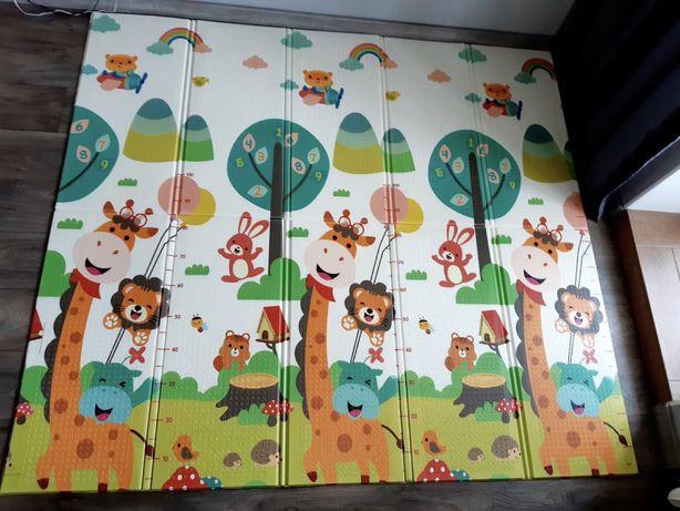 200×180×1 детский коврик для ползания и игр,термоковрик складной