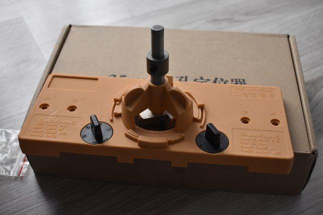 Szablon do zawias 35mm Blum,Gtv,Amix