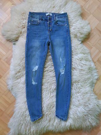 Modne jeansy skinny