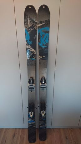 narty K2 Sideshow - freeride, freeridowe, skitour, skitourowe