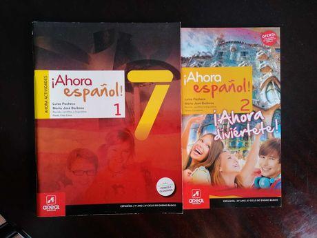 Ahora Espanhol 7 - como novo!