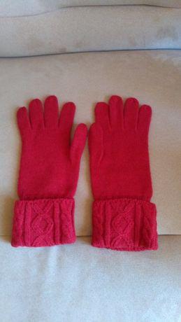 Rękawiczki wełniane firmy Apriori, 100% nowe, czerwone, długie