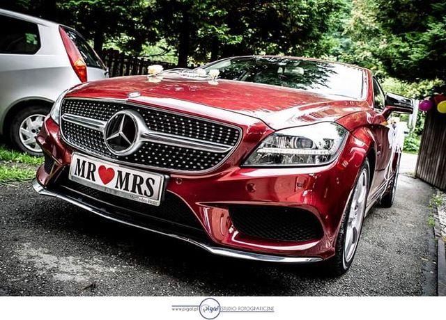Mercedes CLS - samochód do ślubu