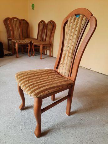 Krzesło krzesła tapicerowane drewniane