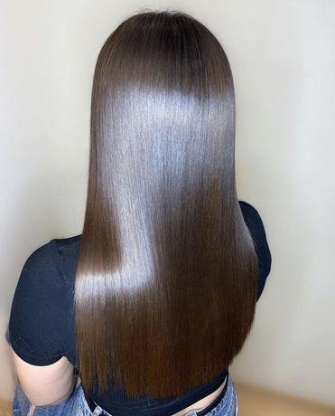 Кератиновое выпрямление волос АКЦИЯ