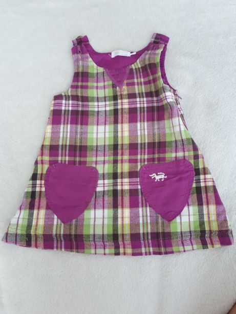 Sukienki dla dziewczynki, rozum. 68 i 74