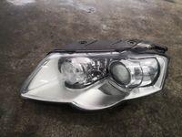 Vw Passat B6 lewa przednia lampa bi xenon kompletna