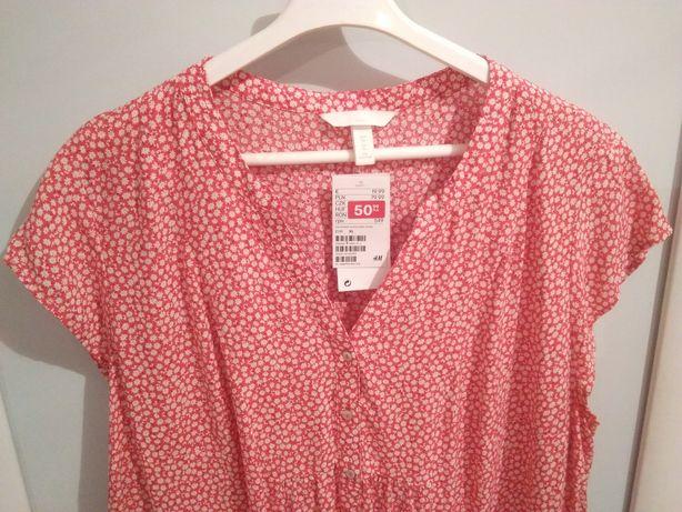 Ubrania ciążowe Bluzeczka ciążowa tunika HM rozmiar XL