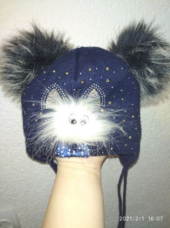 Шапочка .зимова шапка