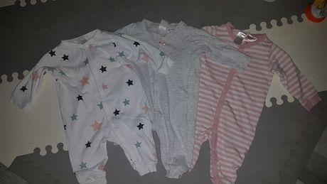 Piżamy dziewczęce, 3 sztuki, 62, H&M