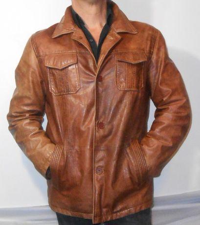 Кожаная куртка.Engbers.Из кожи ламы.