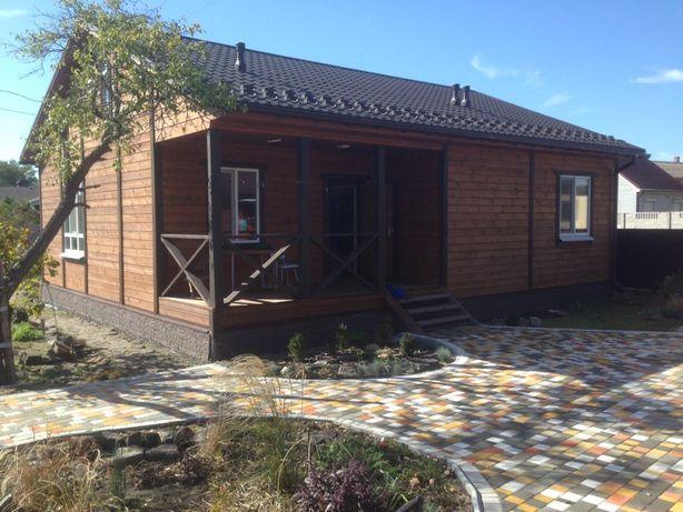 Деревянные Каркасные Дома от 300$ за м2