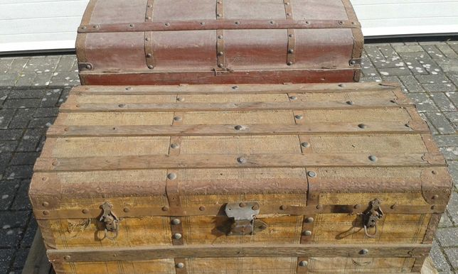 Arca / Baú / Malas madeira