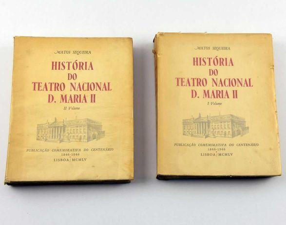 História do Teatro Nacional D.Maria II (2 Volumes)