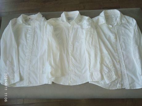 Білі сорочки на хлопчика Zara, Reserved,HM