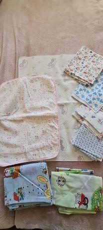 Пелёнки байковые,  детское постельное бельё,  пелёнки-непромокайки