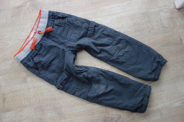 ocieplane spodnie bojówki cool club r. 104