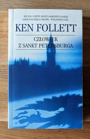 Kryminał Ken Follett - Człowiek z Sankt Petersburga Paczkomat