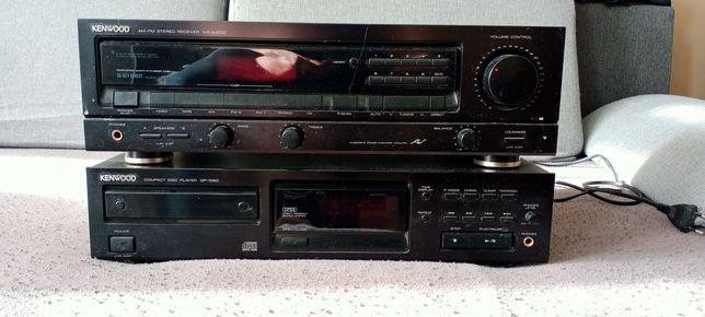 Kenwood segment CD + wzmacniacz
