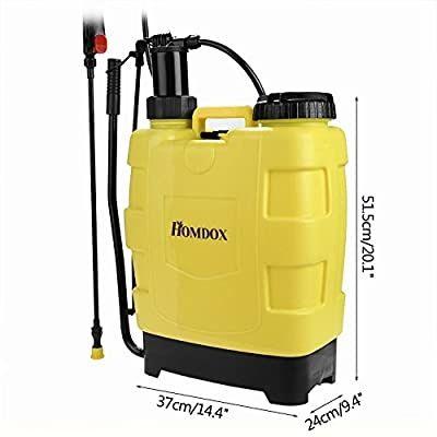 Homdox 20l opryskiwacz plecakowy z tłokiem przenośna myjka ciśnieniowa