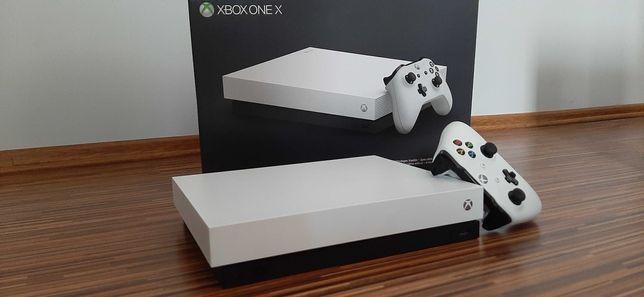 ! Konsola Xbox One X 1T 4K ULTRA HD White + Gry ! Okazja !
