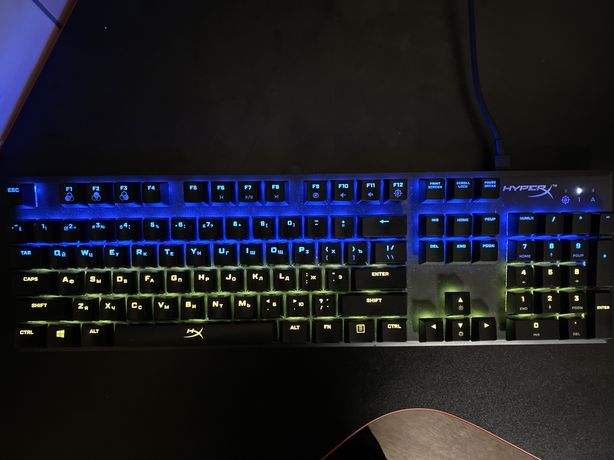 HyperX Alloy FPS RGB Kailh Speed Silver USB