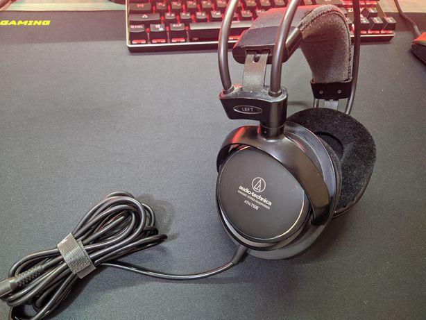 Наушники Audio technica ath t500. (Hyper x, sennheiser, razer, akg)