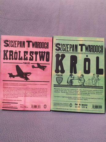 Sprzedam 2 książki Szczepana Twardocha
