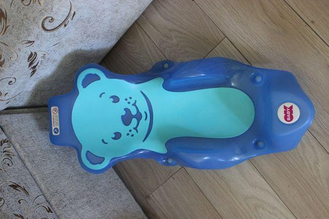 Fotelik, wkładka do wanienki do kąpieli niemowląt.