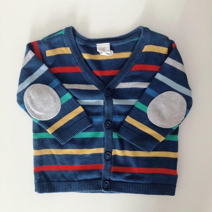 Sweterek dla chłopca 68/74 h&m Łowicz - image 1